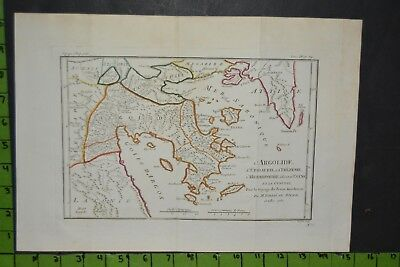 Antique 1783 Map of Ancient Greek Empire