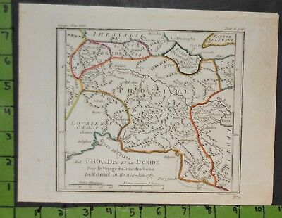 Antique 1787 Map of Ancient Greek Empire