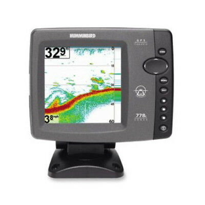 Humminbird Fishfinder 778cx HD (Dual Freq Dual Beam, 4000W, 5in Colo.(407930-1M)