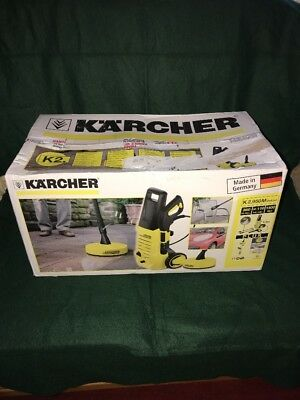 KARCHER K2.950M Deluxe 110 Bar 1400W Pressure Washer + T50 Patio Cleaner Brush