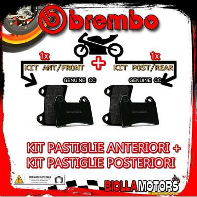 Brpads-52016 Kit Pastiglie Freno Brembo Ducati Monster 600 Dark 2000- 600Cc [Gen