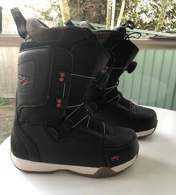 Rome SDS Stomp BOA black 2016 womens snowboard boots.