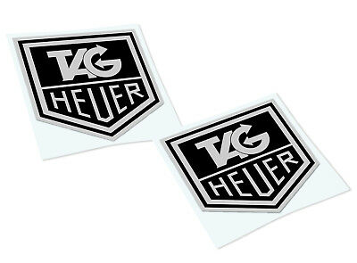 TAG HEUER Classic Retro Car Motorcycle Decals Stickers