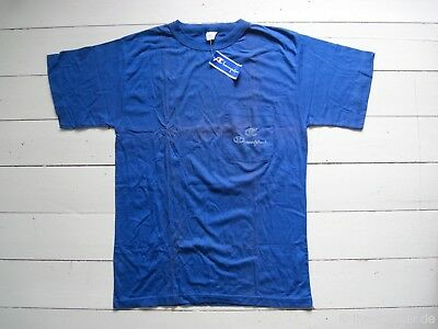 NOS 90er CHAMPION POCKET TEE T-Shirt By True Vintage Street Romantic Woodwood x