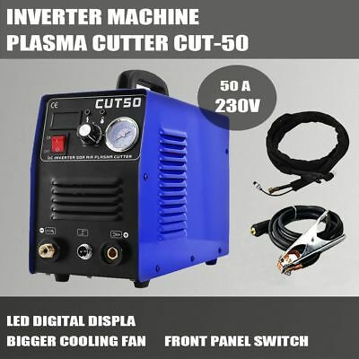 PLASMA CUTTER 50A DC INVERTER Cutting Power Up to 12mm Stock In UK Free Shipping
