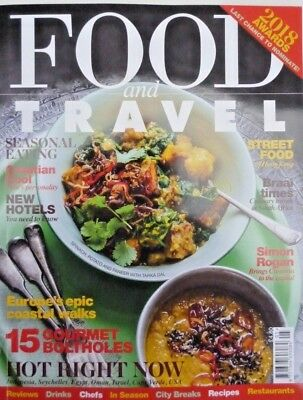 Food And Travel Magazine May 2018 ~ Street Food Of Hong Kong ~ Croatian Cool ~