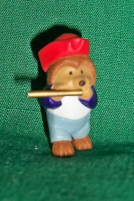 Hallmark Merry Miniatures 1993 Hedgehog w/fife Patriotic