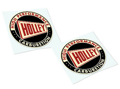 HOLLEY Classic Retro Car Motorcycle Decals Stickers