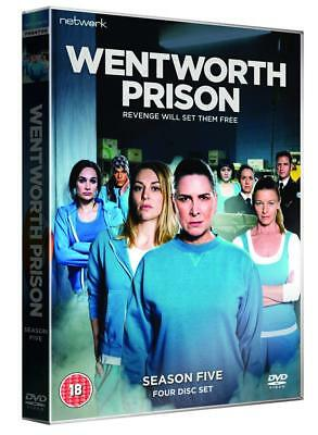 Wentworth Prison: Complete Series 5 - DVD NEW & SEALED (4 Discs) (Season 5)