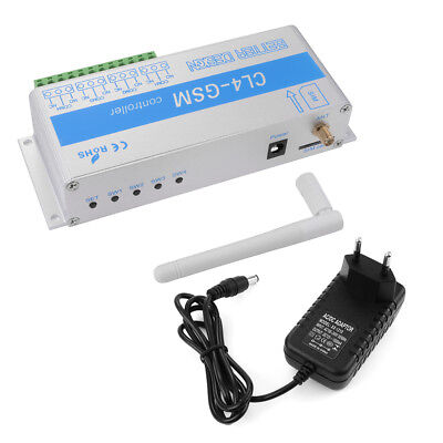 Phone GSM SMS Remote Controller Relay Smart Switch Alarm Security System TH463
