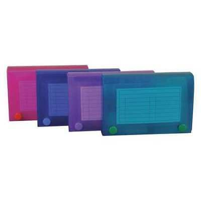 """Index Card Case,3 x 5"""",Assorted,PK3 C-LINE PRODUCTS 58435BNDL3PK"""