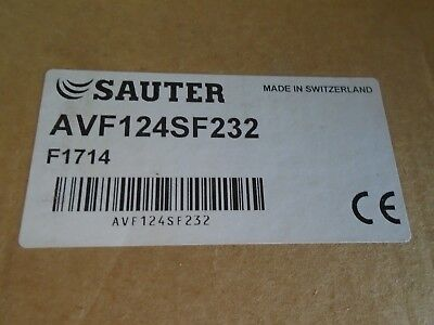 Sauter AVF124SF232 IP66  Actuator BNIB