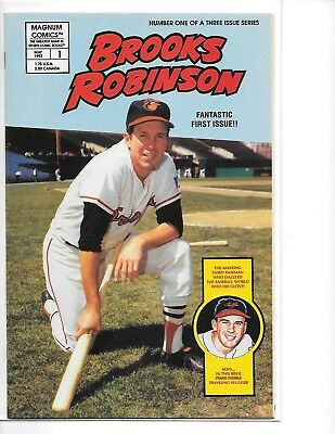 Brooks Robinson #1 Magnum Sports Comic Book VF/NM