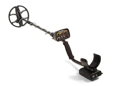 "Metal Detector Golden Mask GM4WD Wireless Dual (8-18kHz) Spider 9"" UK"