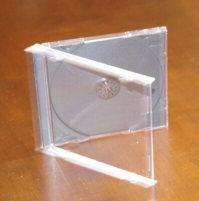 Jewel Cases Cd/dvd 10.4Mm, Lot Of 10, New, Free Priority Mail Shipping