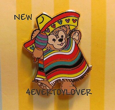 Disney PIN DUFFY BEAR  MEXICAN COSTUME MEXICO free ship on all add items