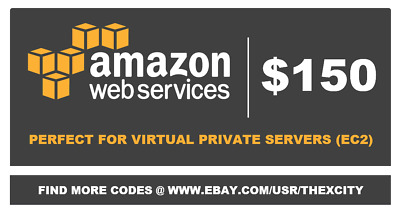 👍 $150 Amazon Web Services AWS Credit Code