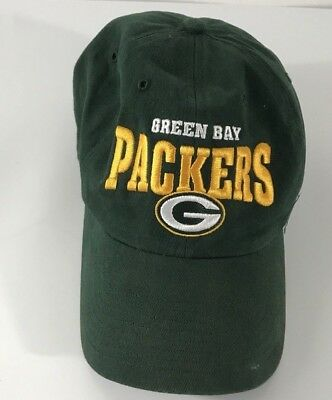 GREEN BAY PACKERS Forty Seven Brand NFL Apparel Hat One Size ... 23b5d73ca