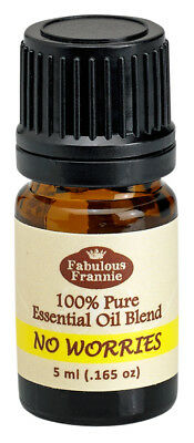 No Worries 5ml Pure Essential Oil Blend BUY 3 GET1 by Fabulous Frannie