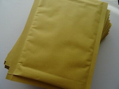 10 x C/0 Gold Padded Bubble Envelopes Mailers Bags 150x215mm