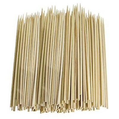 300 x 10 inch WOODEN BAMBOO SKEWERS STICKS FOR KEBAB, BBQ, FRUIT