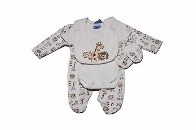 Premature baby 4 piece outfit