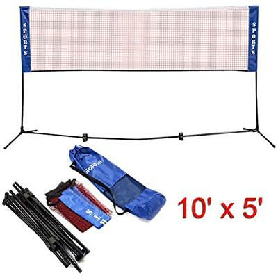 Portable Badminton Net Beach Volleyball Tennis Competition X FREE SHIPPING