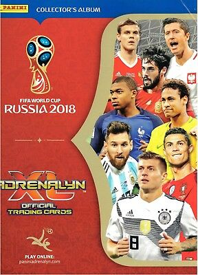 Panini Adrenalyn XL World Cup Russia 2018 Limited Editions, Top Masters & More