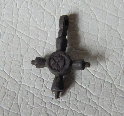 Ancient Viking bronze Cross Pendant. Kievan Rus.