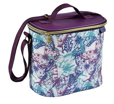 Polar Gear Purple Butterfly Cool Bag | Coolbag Lunch Bag Packed Lunch Picnic