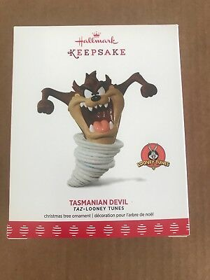 2017 hallmark keepsake tasmanian devil ornament