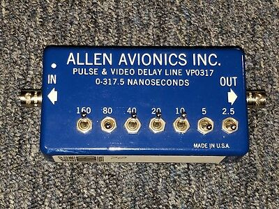 Allen Avionics Pulse & Video Delay Line, VPO317