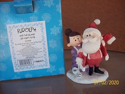 Enesco Rudolph & The Island of Misfit Toys Mr./Mrs. Claus #557609
