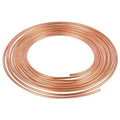 Copper Nickel 25 Ft. Roll Coil Of 3/16 OD Brake Line Tubing Kit FREE SHIPPING