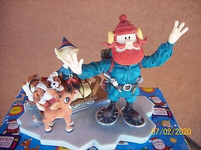 """Enesco Rudolph & The Island of Misfit Toys """"Good Friends Stick Together"""" #875309"""