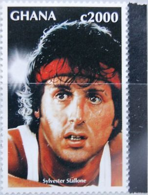 GHANA 1996 2437 1911 Sylvester Stallone Movie Rocky II Boxing Boxen MNH