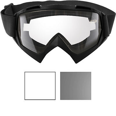 b966c078dea Tactical OTG Black Goggles Over The Glasses UV 400 Anti Scratch Fog Sand  Dust