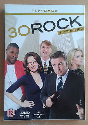 30 Rock - Series 1 And 2 - Complete (DVD, 2009, 6-Disc Set)