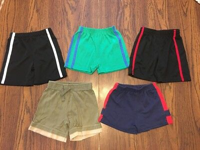 Lot Of 5 Baby Boy Comfy Lounge Shorts Size 18 Months