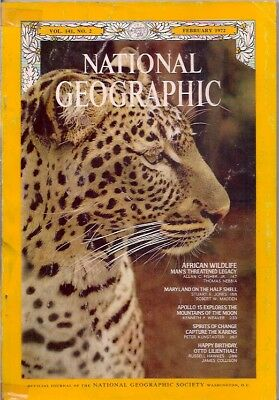 national geographic-FEB 1972-AFRICAN WILDLIFE.