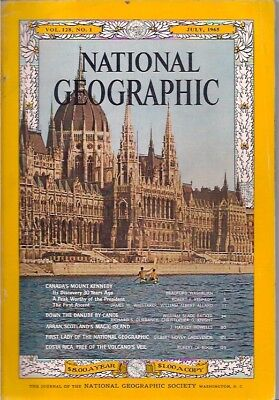 national geographic-JULY 1965-DANUBE.