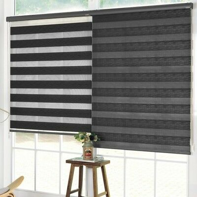 Lt - Day & Night Roller Blind Black