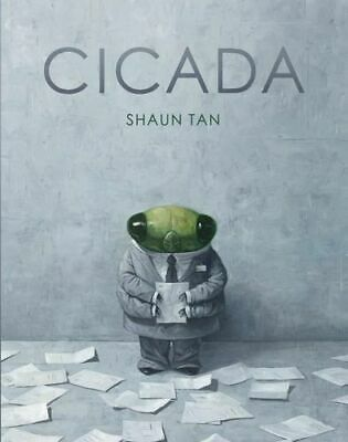 NEW Cicada By Shaun Tan Hardcover Free Shipping