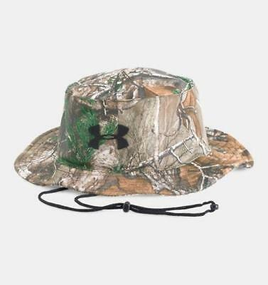Sale  35 Under Armour UA Full Camo Men s Realtree AP Xtra Bucket Sun Hat 9143802f39fb
