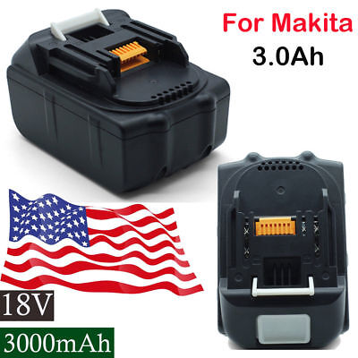 2x 3.0AH 18V Battery For Makita BL1840 BL1830 BL1815 LXT Lithium Ion Cordless US