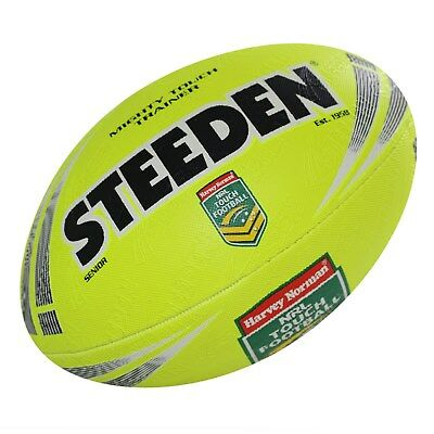 Steeden Mighty Touch Trainer Ball        size: Senior     colour: Yellow or Pink