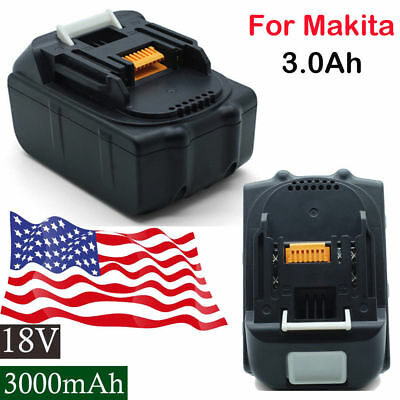 For Makita BL1815 BL1830 BL1840 BL1850 LXT Lithium Ion 18V 3.0Ah Replace Battery