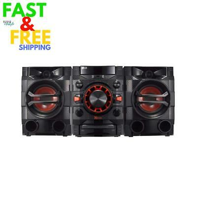 Lg Loudr Cm4360 230 W Home Audio System With Bluetooth Cd Radio Boom Box - Black