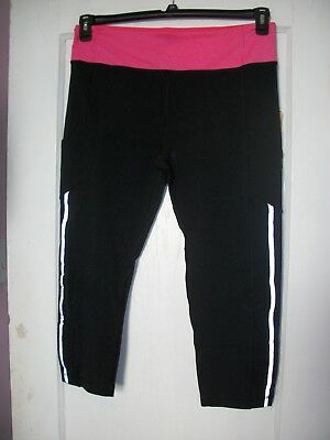 f71f901aa8fc9e NWT WOMENS 90 Degree By Reflex Yoga Athletic Running Capri ...