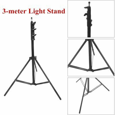 3m Professional Adjustable Photo Studio Light Stand Tripod Load Light Stand NS